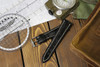 Black Genuine Matte Alligator Watch Band for Breitling | OEMwatchbands.com
