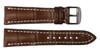 20x18 Mahogany Genuine Matte Alligator Watch Band for Breitling | OEMwatchbands.com