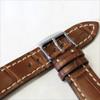 Mahogany Genuine Matte Alligator Watch Band for Breitling | Breitlingstraps.com