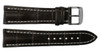 22x20 Mocha Genuine Matte Alligator Watch Band for Breitling   OEMwatchbands.com