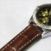 Mahogany Genuine Matte Alligator Watch Band for Breitling | OEMwatchbands.com