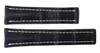 22x18 Navy Genuine Matte Alligator Watch Band for Breitling | OEMwatchbands.com