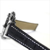 Black Genuine Matte Alligator Watch Band for Breitling | OEMwatchbands.com