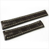 Mocha Genuine Matte Alligator Watch Band for Breitling | Breitlingstraps.com