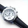 Black Genuine Shark Skin Watch Band for Breitling | OEMwatchbands.com