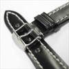 Black Genuine Shell Cordovan Leather Watch Band for Breitling | OEMwatchbands.com