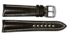 22x18 Mocha Genuine Shell Cordovan Leather Watch Band for Breitling   OEMwatchbands.com