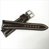 Mocha Genuine Shell Cordovan Leather Watch Band for Breitling   OEMwatchbands.com