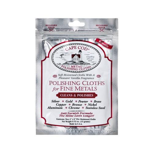 Cape Cod Polishing Cloth (Foil Pouch) | OEMwatchbands.com