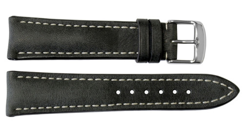 24x20 Stone Vintage Leather Watch Strap for Breitling (Tang Buckle) | OEMwatchbands.com