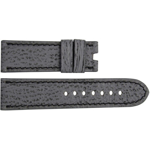 24mm Stone Shark Watch Strap with Black Stitching for Panerai Deploy | OEMwatchbands.com