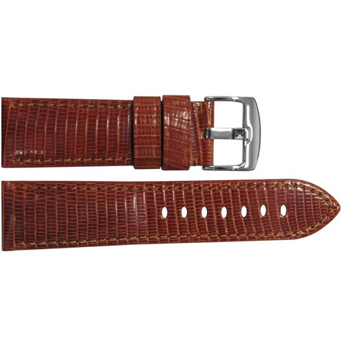 26mm Rou Lizard Watch Strap with Match Stitching for Panerai Radiomir | OEMwatchbands.com