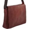 Ashwood Leather Pedro Cognac Messenger Bag