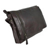 Rowallan Conquest Large Brown Leather Messenger Bag