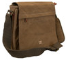 Troop Cotton Brown Laptop Messenger Bag