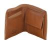Ashwood Wimbledon Mens Luxury 3 Card Tan Leather Wallet