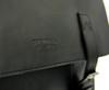 Tokyo Hasuda Classic Vegan Black Leather Briefcase