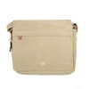 Troop Cotton Khaki Laptop Messenger Bag