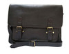 Ashwood Josh Brown Leather School Satchel