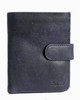 Ashwood Stratford Flipside 7 Card Black Leather Wallet