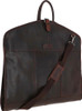 Austen & Co Tan Brown Leather Suit Carrier