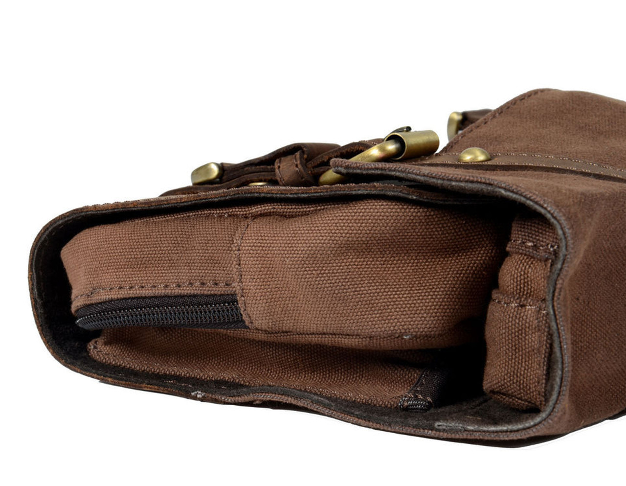 6c76b859f6 Ashwood Brown Leather Fold Out Wash Bag