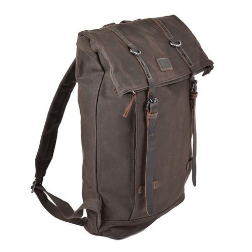 Troop Heritage Canvas Leather Brown Laptop Backpack