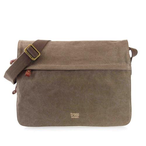 Troop London Cotton Messenger Bag