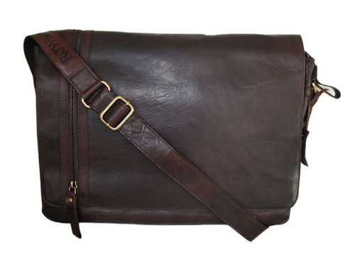 Rowallan Conquest Large Leather Messenger
