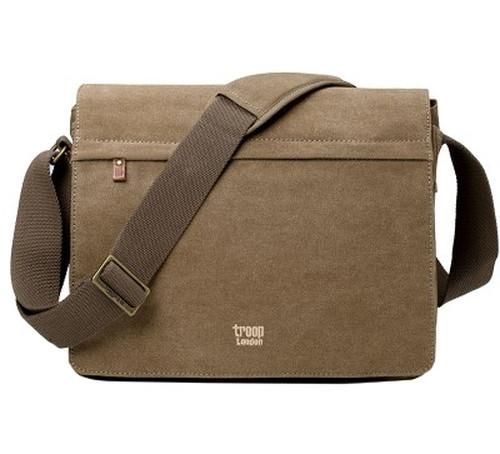 Troop Cotton Brown Laptop Messenger Bag