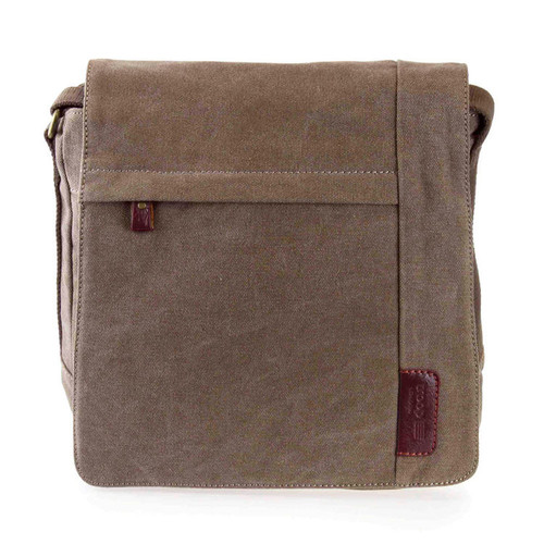 Troop London Canvas Brown Flight Bag