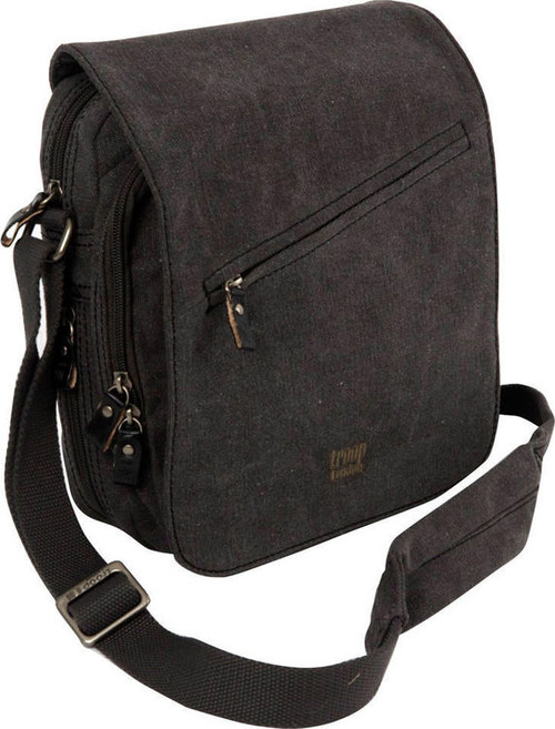 Troop Black Cotton Classic Flight Bag