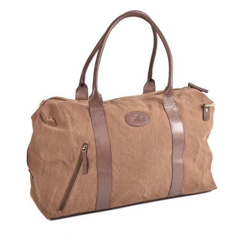 Rowallan Brushwood Brown Holdall