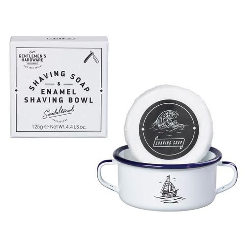 Wild & Wolf Shaving Soap & Enamel Bowl