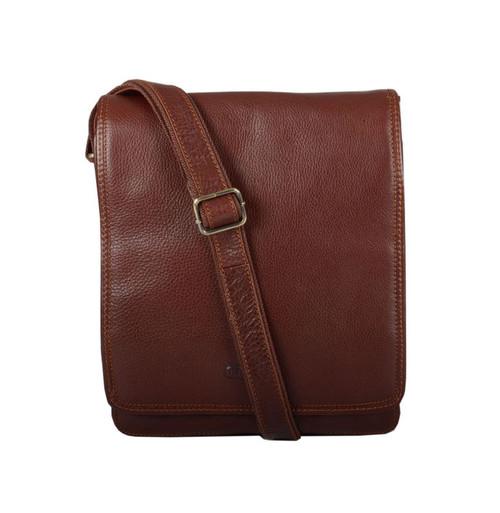 Katana Brown Leather iPad/Flight Bag