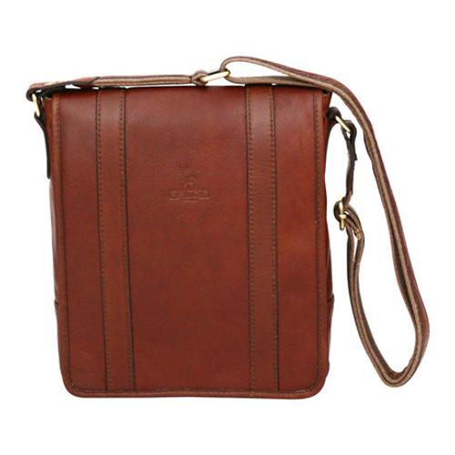 Felda Firenze Tablet Cognac Messenger Bag