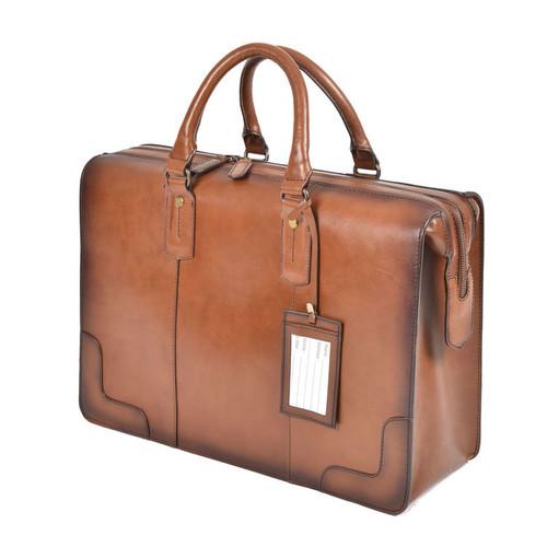 Ashwood Dorchester Tan Leather Doctor Bag