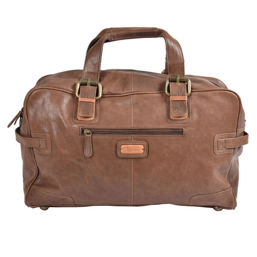 Ashwood Brompton Dylan Leather Weekend Holdall