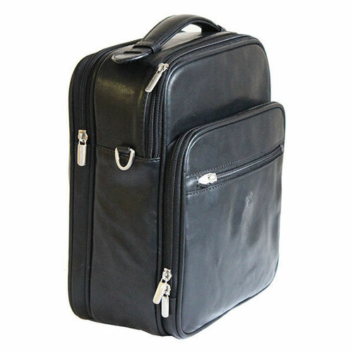 Tony Perotti Leather Classic Flight Bag