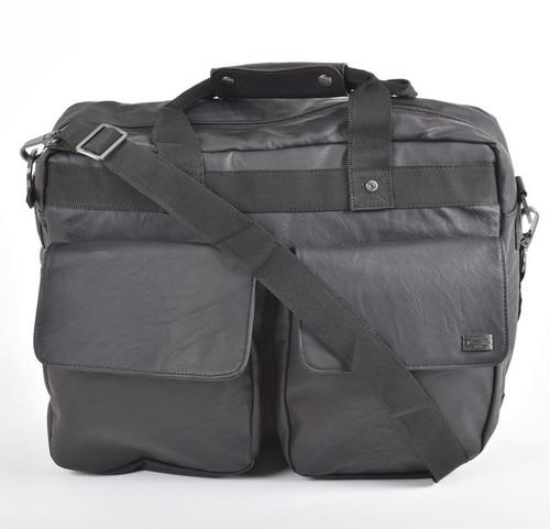 Storm Faux-Leather Laptop Briefcase