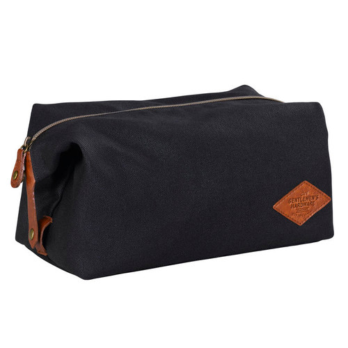 Wild & Wolf Gentlemen's Hardware Wax-Canvas Wash Bag