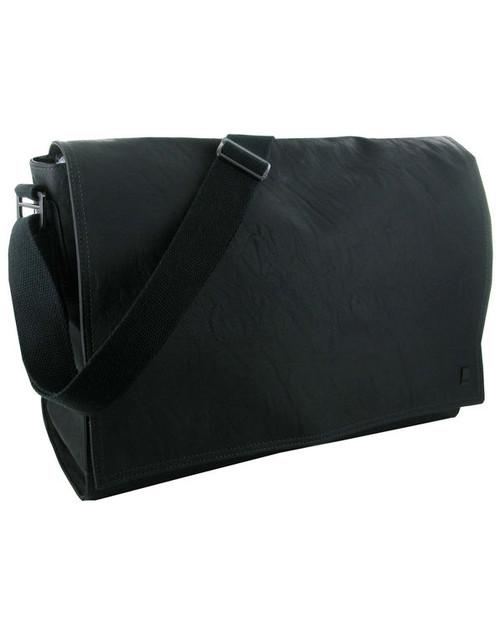 Storm Northway Black Faux Leather Laptop Bag