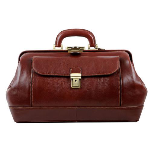 Delamore Brown Leather Doctor Bag