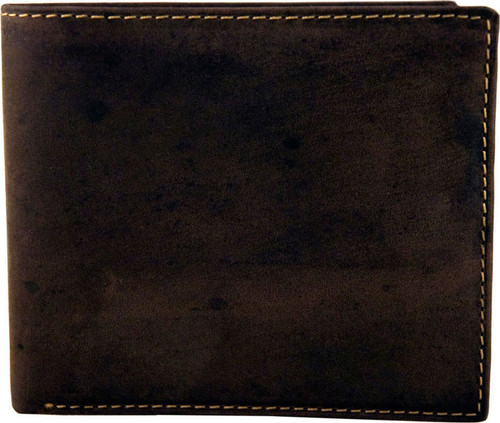 Visconti Brown Leather Slim Hunter Wallet