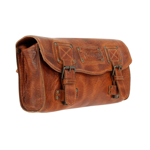 Norton Tool Roll Tan Leather Bag