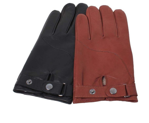 Ashwood Mens Driving Style Premium Leather Gloves
