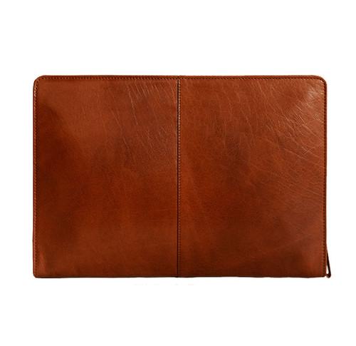 Visconti Hanz Leather Document Holder - Tan