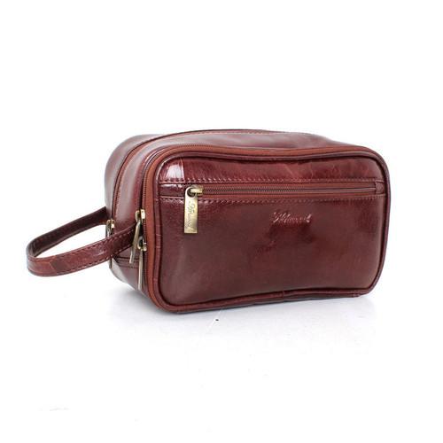 Ashwood Chelsea 2080 Leather Wash Bag