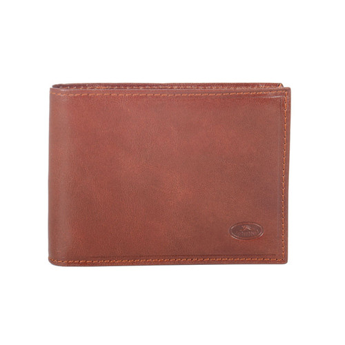 Katana Traditional Brown Hide Leather Wallet