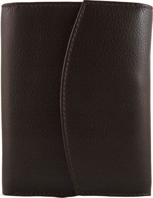 Marco Valenti Leather Flapover Wallet